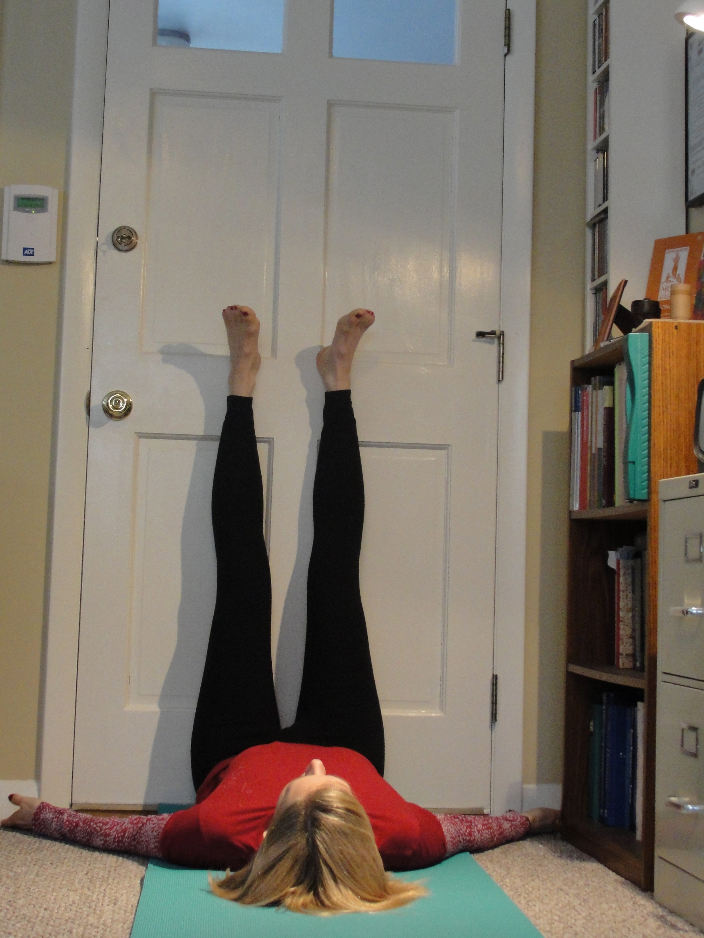 Legs up the Wall – Sarah Whitten Voice & Yoga